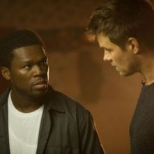 Fire with Fire: Josh Duhamel insieme al rapper 50 Cent in una scena del film