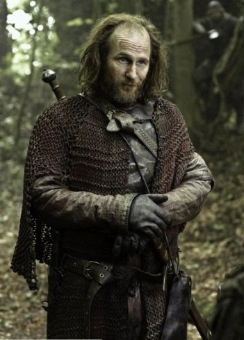 Il trono di spade: Paul Kaye è Thoros di Myr nell'episodio Dark Wings, Dark Words