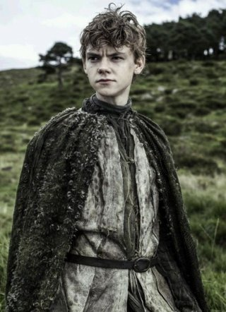 Il trono di spade: Thomas Sangster in una scena dell'episodio Dark Wings, Dark Words