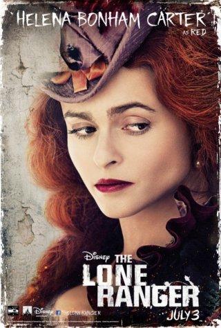 The Lone Ranger: il character poster di Helena Bonham Carter