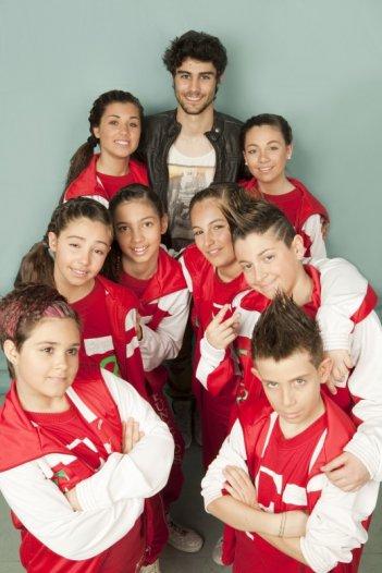 Altrimenti ci arrabbiamo: Pablo Espinosa con altre protagoniste del programma