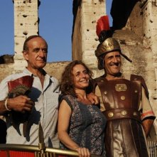 Benur: Nicola Pistoia con Paolo Triestino ed Elisabetta De Vito in una foto promozionale