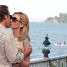Blue Jasmine: un bacio appassionato tra Cate Blanchett e Peter Sarsgaard