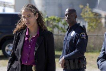 Low Winter Sun: Athena Karkanis nel pilot della serie