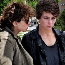Miele: Jasmine Trinca insieme alla regista Valeria Golino sul set del film