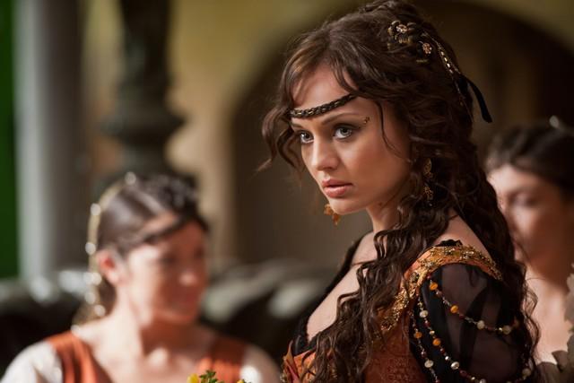 Da Vinci S Demons Laura Haddock In Una Scena Della Serie 271438