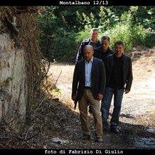 Il commissario Montalbano: Luca Zingaretti e Davide Lo Verde nell'episodio Il sorriso di Angelica
