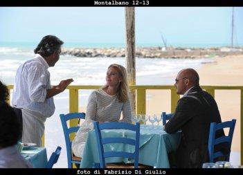 Il commissario Montalbano: Luca Zingaretti e Lina Perned nell'episodio Il sorriso di Angelica