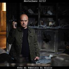Il commissario Montalbano: Luca Zingaretti in un momento dell'episodio Il gioco degli specchi