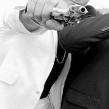 Nella foto Salvatore Ruocco nel ruolo di Cicilia ne Il ragioniere della mafia