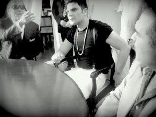 Tony Sperandeo e Salvatore Ruocco in una scena del film Il ragioniere Della Mafia di Federico Rizzo
