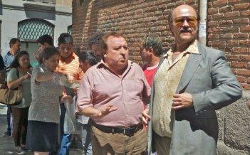 Torrente - Il braccio idiota della legge: il protagonista Santiago Segura insieme a Fernando Esteso in una scena del film