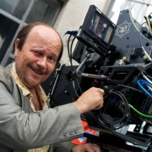 Torrente - Il braccio idiota della legge: il regista e protagonista della saga Santiago Segura sul set