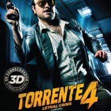 Torrente - Il braccio idiota della legge: la locandina del film