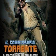 Torrente - Il braccio idiota della legge: la locandina italiana del film