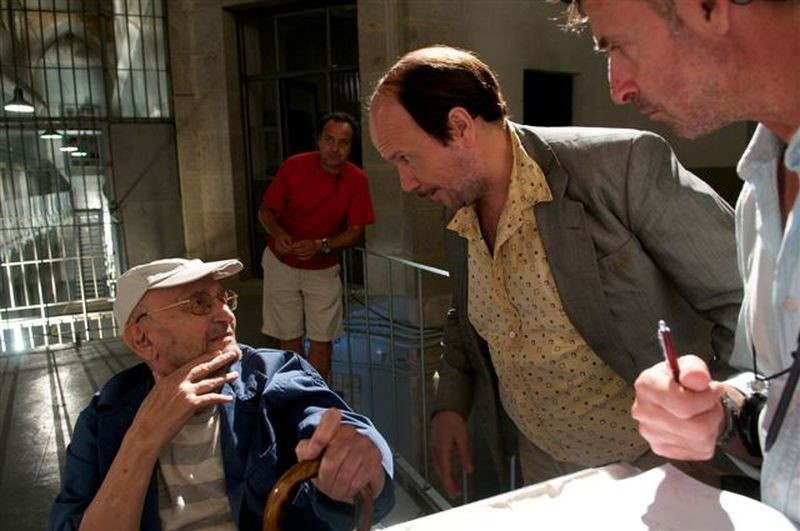 Torrente Il Braccio Idiota Della Legge Santiago Segura Con Tony Leblanc Sul Set Del Film 271427