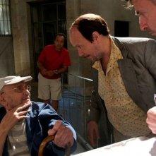 Torrente - Il braccio idiota della legge: Santiago Segura con Tony Leblanc sul set del film