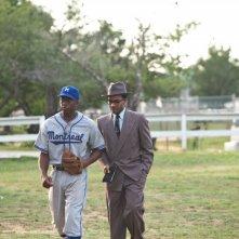 Chadwick Bosemannel film 42, accanto ad Andre Holland