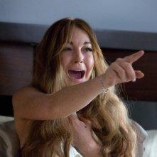 Lindsay Lohan in una scena di Scary Movie 5