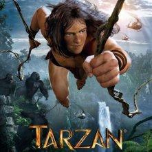 Tarzan 3D: il poster tedesco