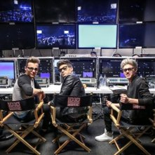 This is Us: Liam Payne, Harry Styles, Zayn Malik, Niall Horan, Louis Tomlinson in una scena
