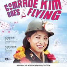 Comrade Kim Goes Flying: la locandina del film