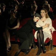 Il sole di Nina: Federica Restani insieme a Silvia Benedini in una scena del film