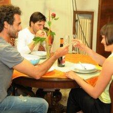 La finestra di Alice: Sergio Muñiz con Fabrizio Bucci e Donatella Allegro in una scena