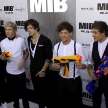 I Love One Direction: Harry Styles, Liam Payne, Louis Tomlinson, Niall Horan e Zayn Malik alla premiere di Men in Black 3