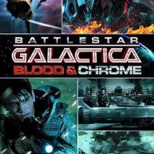 La locandina di Battlestar Galactica: Blood and Chrome