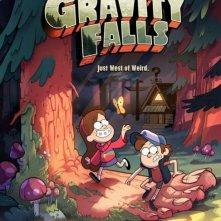 La locandina di Gravity Falls