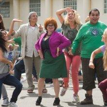 Les profs: Isabelle Nanty (al centro) in una scena del film