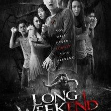 Long Weekend: la locandina del film