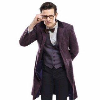 Matt Smith in un'immagine promozionale dell'episodio The Rings of Akhaten, settima stagione di Doctor Who