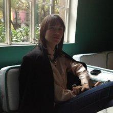 Post Tenebras Lux: la protagonista Nathalia Acevedo sul set