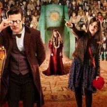 Un'immagine promozionale dell'episodio The Rings of Akhaten, settima stagione di Doctor who