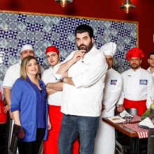 Antonino Cannavacciuolo è il protagonista dello show Cucine da incubo - Italia