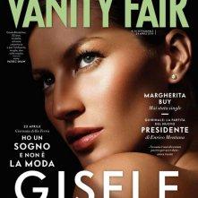 Un magnifico ritratto di Gisele Bundchen sulla cover di Vanity Fair Italia - aprile 2013