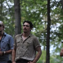 As I Lay Dying: il regista e interprete James Franco sul set