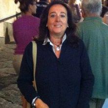 Gabriella Schina sul set de La Viceregina