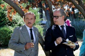 La Grande Bellezza: Carlo Buccirosso e Toni Servillo in una scena del film