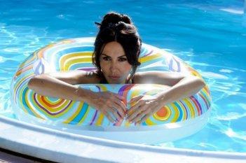 La Grande Bellezza: Sabrina Ferilli sul set del film