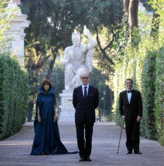 La Grande Bellezza: Sabrina Ferilli, Toni Servillo  e Giorgio Pasotti sul set del film