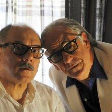 La Grande Bellezza: Toni Servillo sul set del film insieme a Carlo Verdone