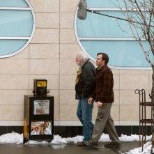 Nebraska: Bruce Dern e Will Forte sul set del film