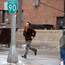 Nebraska: Will Forte sul set del film