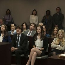 The Bling Ring: Emma Watson, Claire Julien e Israel Broussard in una scena