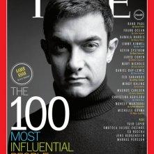 Aamir Khan sulla cover di TIME dedicata ai 100 personaggi più influenti del 2013