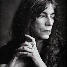 Una foto di Patti Smith