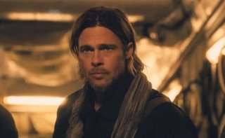 Brad Pitt in una scena di World War Z